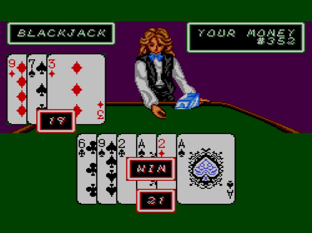 I love playing poker